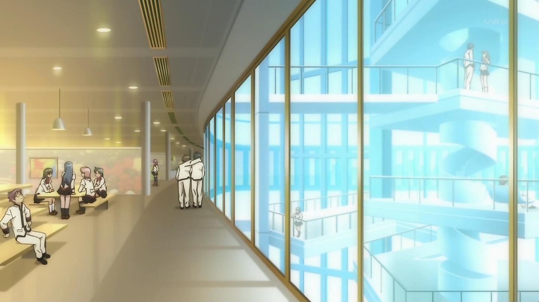Картинки институт аниме